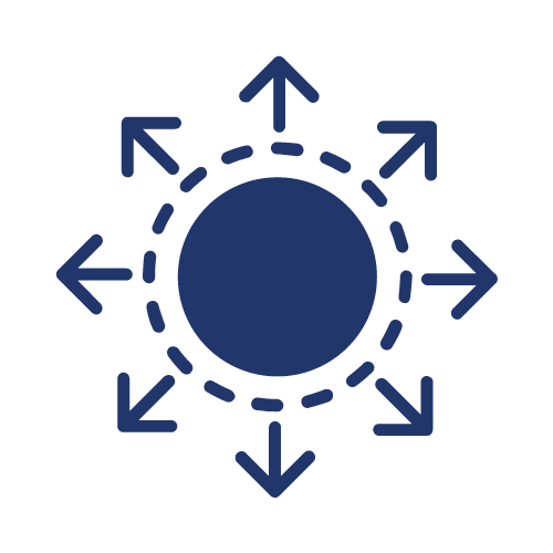 Diversification Icon